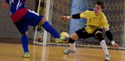 futsal goal keeper training